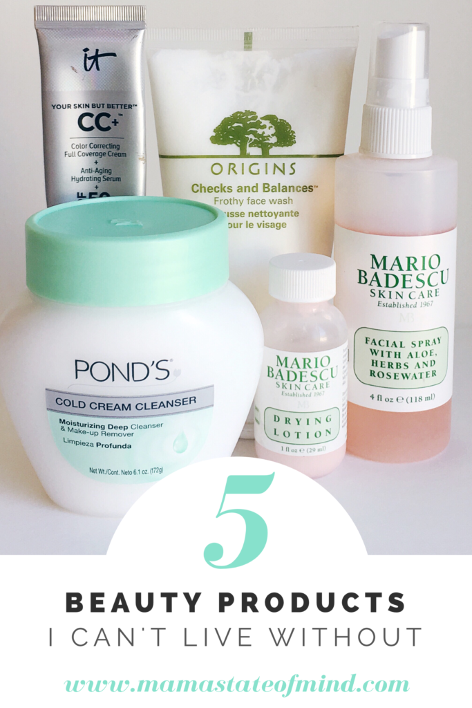 5 Beauty Products I Can't Live Without - Mama State of Mind