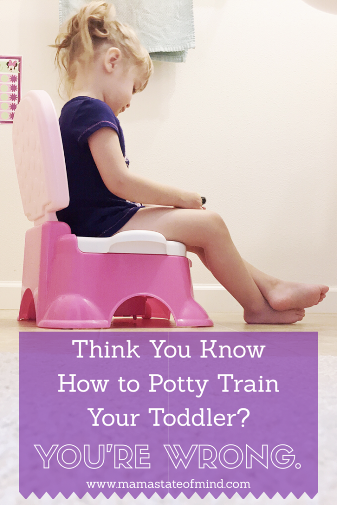 Think You Know How to Potty Train Your Toddler? You're Wrong.