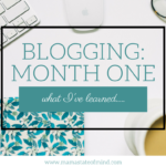 What I've Learned In My First Month Of Blogging