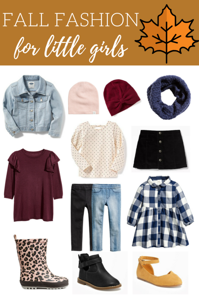 11 Items Your Little Girl Needs in Her Fall Wardrobe