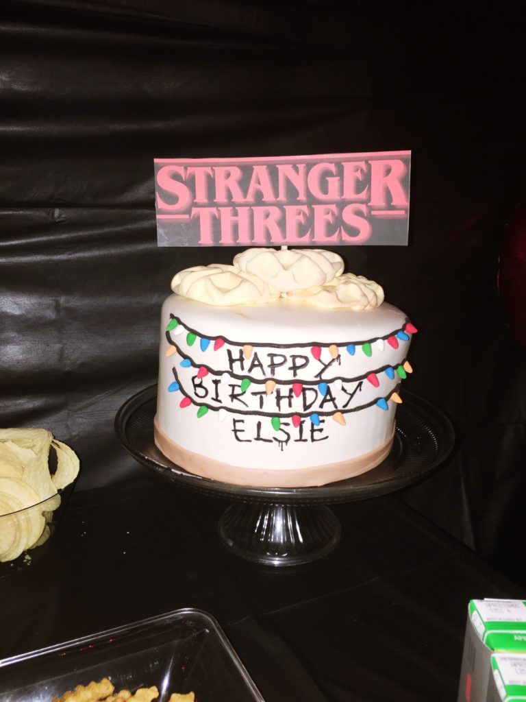 Stranger Threes - A Stranger Things Themed 3rd Birthday Party