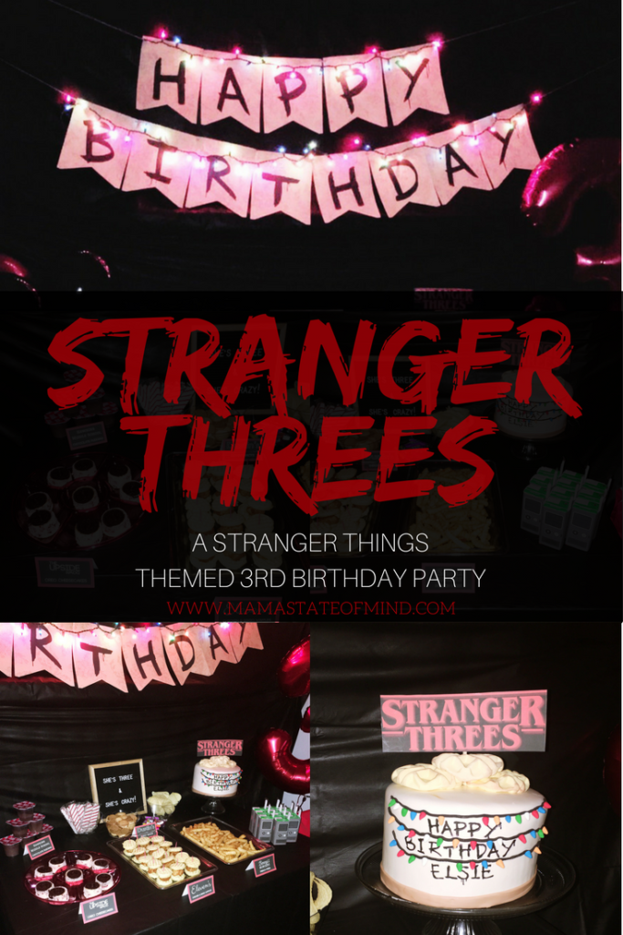 When your toddler requests a Stranger Things themed birthday party, you run with it.This party was a blast to plan and throw. Every little detail just made the party that much more amazing.
